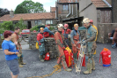 Rescue practice organised by the BEC at Hunters Lodge Inn Sink in July 2014_6