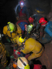 Rescue practice organised by the BEC at St Cuthberts Swallet in 2011_5