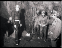 Rescue practice organised by the MCR at Swildons Hole in 1981_1