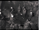 Rescue practice organised by the MCR at Swildons Hole in 1981_2
