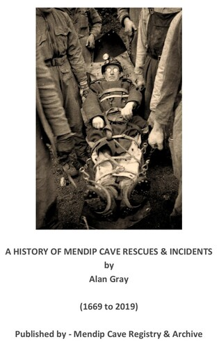 Cave Rescue on Mendip by Alan Gray
